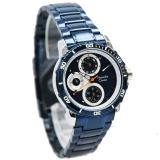 Review Toko Alexandre Christie Ac 6473Ls Strap Stainless Steel Blue White