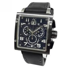 Alexandre Christie AC Collection AC6195 - Jam Tangan Pria - Silver Black