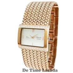 Alexandre Christie AC2466MR Jam Tangan Wanita Stainless Steel Rose Gold
