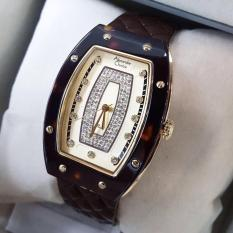 Katalog Alexandre Christie Ac2638Lh Jam Tangan Wanita Strap Leather Coklat Tua Terbaru