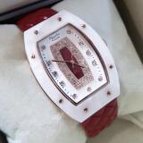 Spesifikasi Alexandre Christie Ac2638Lh Jam Tangan Wanita Strap Leather Merah Dan Harga