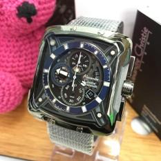 Alexandre Christie AC3030VS - Jam Tangan Fashion Pria  Murah - Leather Strap - Rantai Pasir