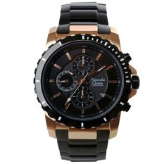 Spek Alexandre Christie Ac6141Mc Jam Tangan Pria Stainless Steel Hitam Rose Gold Indonesia
