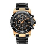 Harga Alexandre Christie Ac6141Mcbbrba Black Rose Gold Jam Tangan Pria Lengkap