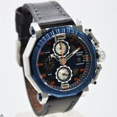 Alexandre Christie AC6373MC Jam Tangan Pria Strap Leather