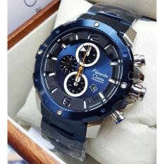 Review Alexandre Christie Ac6410Brs Jam Tangan Pria Stainless Steel Biru Indonesia
