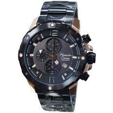Harga Alexandre Christie Ac6410Mc C Jam Tangan Pria Stainless Steel Hitam Gold New