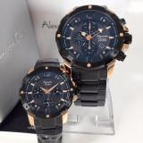 Harga Alexandre Christie Ac6410Mcp Jam Tangan Couple Stainless Steel Hitam Rose Gold Alexandre Christie Original