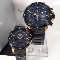 Spesifikasi Alexandre Christie Ac6410Mcp Jam Tangan Couple Stainless Steel Hitam Rose Gold Terbaru