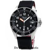 Jual Alexandre Christie Ac6434Bs Jam Tangan Pria Strap Canvass Hitam Silver Alexandre Christie Online