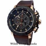 Spesifikasi Alexandre Christie Ac6439Mc Jam Tangan Pria Strap Leather Coklat Rose Gold Dan Harga