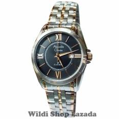 Toko Alexandre Christie Ac8427Lc Jam Tangan Wanita Stainless Steel Silver Lis Gold Di Dki Jakarta