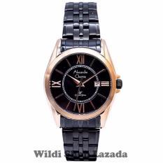 Review Alexandre Christie Ac8427R Jam Tangan Wanita Stainless Steel Hitam Rose Gold Dki Jakarta