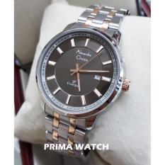 Harga Alexandre Christie Ac8511 Jam Tangan Pria Stainless Steel Silver Rosegold Branded