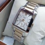 Promo Toko Alexandre Christie Ac8533 Jam Tangan Wanita Stainless Steel Silver Lis Gold