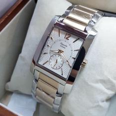 Promo Alexandre Christie Ac8533 Jam Tangan Wanita Stainless Steel Silver Lis Gold Akhir Tahun