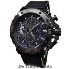 Alexandre Christie AC9205MB Jam Tangan Pria Strap Leather Hitam ae734feb04