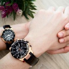 Alexandre Christie Couple Set AC6455 Jam Tangan Couple/Pasangan Fashion Kasual
