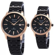 Toko Alexandre Christie Couple Watch Jam Tangan Couple Black Rosegold Strap Stainless Steel Ac 8476Cbrg Terlengkap Indonesia