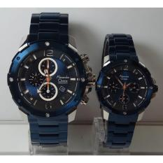 Jual Cepat Alexandre Christie Jam Tangan Couple Alexandre Christie Ac6410Mc Bf Silver Blue Stainless Steel