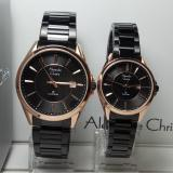Harga Alexandre Christie Jam Tangan Couple Alexandre Christie Ac8529Md Ld Classic Black Rosegold Stainless Steel Paling Murah