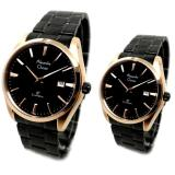 Beli Alexandre Christie Jam Tangan Couple Hitam Strap Stainless Steel 8515 Murah Indonesia