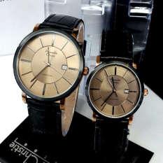 Jual Beli Alexandre Christie Jam Tangan Couple Leather Strap Ac 8344 Black Couple Di Dki Jakarta