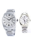 Cara Beli Alexandre Christie Jam Tangan Couple Silver White Stainless Steel Ac 8289 Cpsw