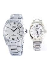 Toko Alexandre Christie Jam Tangan Couple Silver White Stainless Steel Ac 8289 Cpsw Termurah Di North Sumatra