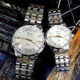 Harga Alexandre Christie Jam Tangan Couple Stainless Steel Ac 8511 Silver White Couple Yang Bagus