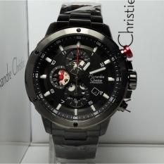 Harga Alexandre Christie Jam Tangan Pria Alexandre Christie Ac6453Mc Chronograph Black Stainless Steel Murah