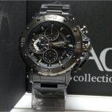 Jual Alexandre Christie Jam Tangan Pria Alexandre Christie Ac9205Mc Chronograph Ac Collection Black Stainless Steel Branded Murah