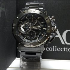 Spek Alexandre Christie Jam Tangan Pria Alexandre Christie Ac9205Mc Chronograph Ac Collection Black Stainless Steel Alexandre Christie