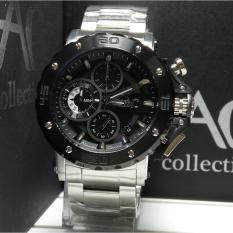 Spesifikasi Alexandre Christie Jam Tangan Pria Alexandre Christie Ac9205Mc Chronograph Ac Collection Silver Stainless Steel
