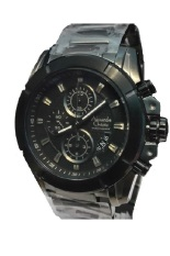 Alexandre Christie - Jam Tangan Pria - Full Black - Stainless Steel - AC 6226 MFB