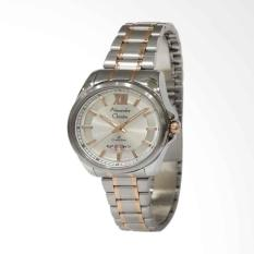 Promo Alexandre Christie Jam Tangan Wanita Ac 8473 Classic Silver Stainle