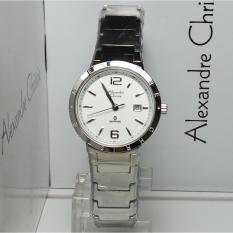 Harga Alexandre Christie Jam Tangan Wanita Alexandre Christie Ac8313Ld Sapphire Silver Stainless Steel Online Indonesia