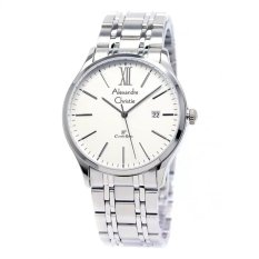 Beli Alexandre Christie Jam Tangan Wanita Silver White Stainless Steel 8504 Lslwh Lengkap