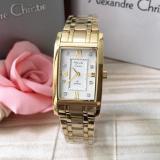 Toko Alexandre Christie Original Ac2666 Jam Tangan Wanita Stainless Steel Gold Terdekat