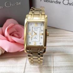 Jual Alexandre Christie Original Ac2666 Jam Tangan Wanita Stainless Steel Gold Import