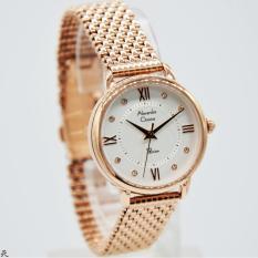 Spesifikasi Alexandre Christie Original Ac2689 Jam Tangan Wanita Stainless Rose Gold Lengkap Dengan Harga