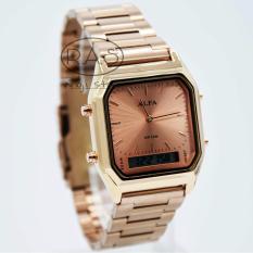 ALFA - AF8003W1 - Dual Time - Jam Tangan Wanita