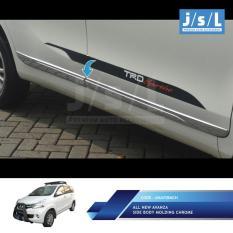 All New Avanza/Xenia Side Body Molding Model Lexus Chrome