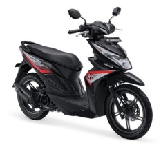 ALL NEW BEAT SPORTY ESP CBS - GARAGE BLACK KAB.KARAWANG
