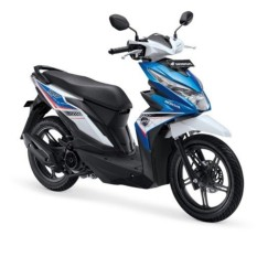 ALL NEW BEAT SPORTY ESP CBS ISS - ELECTRO BLUE WHITE KAB. MUSI BANYUASIN