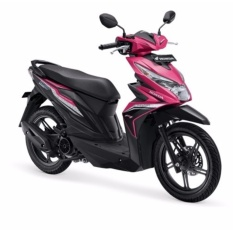 ALL NEW BEAT SPORTY ESP CBS ISS - FUSION MAGENTA BLACK KOTA JAMBI