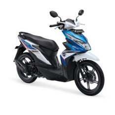 ALL NEW BEAT SPORTY ESP CBS - TECNO BLUE WHITE KAB. KLATEN