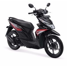 ALL NEW BEAT SPORTY ESP CW - HARD ROCK BLACK KAB.KARAWANG