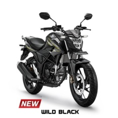 ALL NEW CB150R STREETFIRE - WILD BLACK KOTA SURABAYA