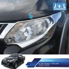 All New Triton Garnish Lampu Depan JSL Krom/Head Lamp Garnish Chrome